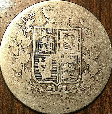 1881 Great Britain Victoria Silver Half Crown