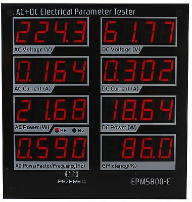 AC/DC300v/power meter/electrical testers/ voltmeter/ammeter/Driver efficiency