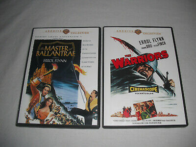 The Warriors + Master of Ballantrae DVD LOT Warner Archive Collection Classic WB