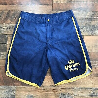ca3535f2e5 Corona Extra Beer Swim Trunks Board Shorts Mens Sz 32 Mexico Boardshorts  Beach