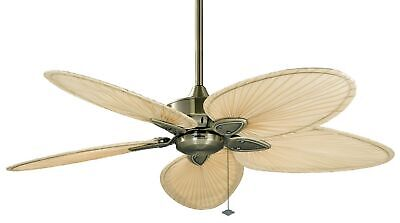 "Fanimation FP7500 Antique Brass Windpointe 52"" 5 Blade Ceiling Fan - Blades"