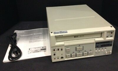 Sony Svo-9500Md Svhs Vhs Ultrasound Medical Video Recorder Vcr Rs-232 Interface