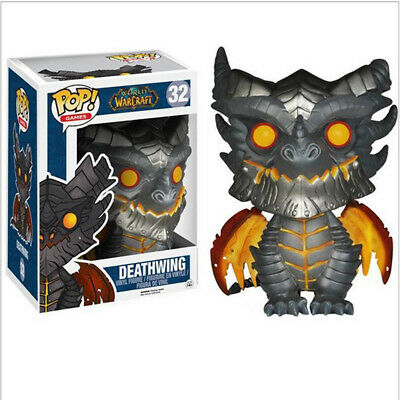 Funko Pop Games: World of Warcraft WOW Deathwing Dragon 10cm Figure Toys Gift