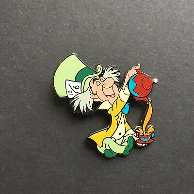 Mad Hatter Sitting & Pouring Tea from Alice in Wonderland - Disney Pin 5897