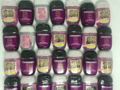 Bath and Body Works Anti-Bacterial Hand Gel 10 Pack PocketBac Sanitizer Assorted