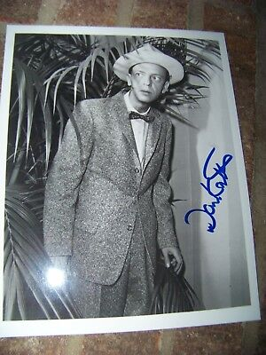 The Andy Griffith Show: Don Knotts SIGNED 8x10 Photo Mayberry Barney Fife