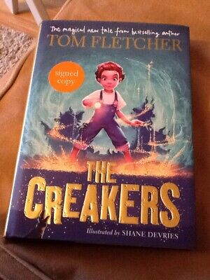 Tom Fletcher Mcfly Signed Creakers Hardback Book First Edition Great Condition