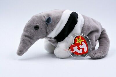 a95155d1e29 Ty Beanie Baby Ants the Anteater + 1998 1997 Tag Error + PE Pellets +
