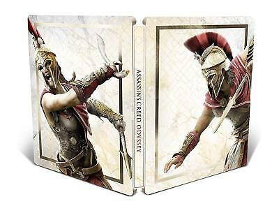 Assassin's Creed Odyssey New Steelbook Only Ps4 Pc Xbox G2 Size Metal Case