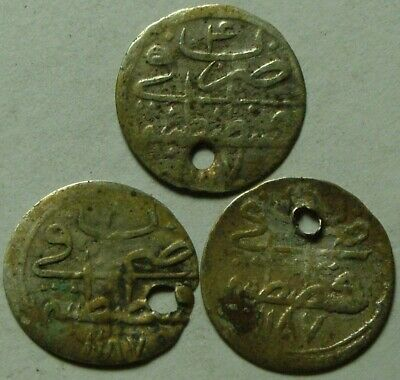 Genuine Islamic billon Para coin/Ottoman Empire Abdul Hamid Turkey Istambul 1771