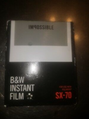 Impossible Project Black And White Polaroid SX-70 Film 3rd Gen