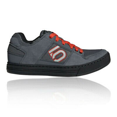 Five Ten Mens Freerider Mountain Bike Shoes Grey Sports Cycling Breathable Suede