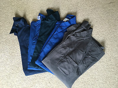 Set Of 5 Very Good Condition Ex-Rental Lab-Warehouse Coats (Please Select Size)