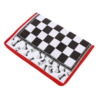 Portable Folding Chess Board Set Entertainment Toys Camping Travel Games 6A