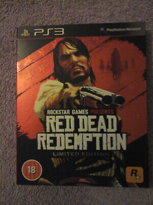 Red Dead Redemption Limited Edition packaging plus game PlayStation 3 2010
