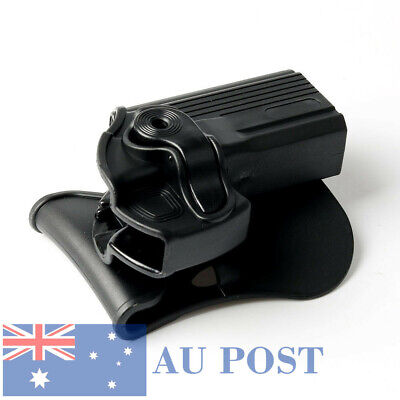 Tactical Military Right Hand Paddle Retention Pistol Holster Case For Hunting AU