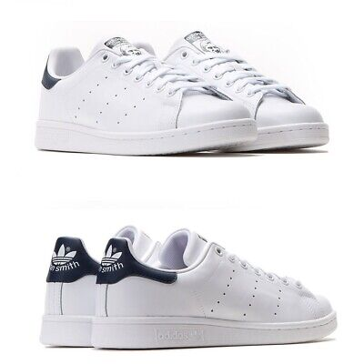 reputable site cb7d4 02375 Adidas Stan Smith Scarpa Da Ginnastica Da Uomo 100%originale Bianco Blu  M20325