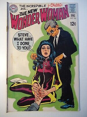 WONDER WOMAN #180 DC Comics 1969 powerless Diana Prince era /Good
