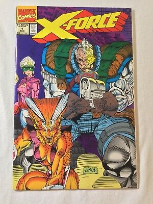 X-Force (1991) -1 1 2 3 4 5 6 7 8 9 & 10 Complete 2Nd Deadpool & Cable & Liefeld