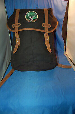 $160 FJALLRAVEN THE Rucksack No 21 Small Red Backpack New