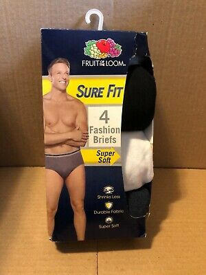 Fruit of the Loom Men's Knit Boxers 3-pack 2XL  SURE FIT & SUPER SOFT  NIP