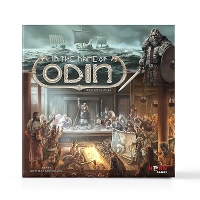 New In The Name Of Odin Strategy Board Game Vikings NSKN Official