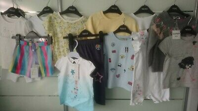NEW 13x NEXT SUMMER BUNDLE OUTFITS TOPS LEGGINGS BABY GIRL 18 M 18-24 MTHS 2+YRS