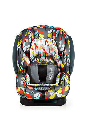 New Cosatto Hug group 123 anti escape isofix car seat in Nordik from 9 to 36kg