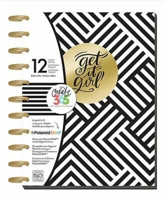 Me & My Big Ideas Create 365 The Happy Planner Get It Girl 12 Month Planner