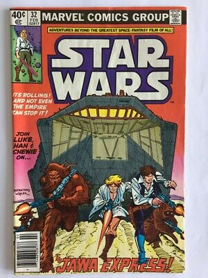 Star Wars #32 (Marvel 1977 Series)