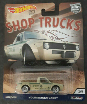 Hot Wheels 2018 Car Culture Shop Trucks VW Volkswagen CADDY NEU - OVP