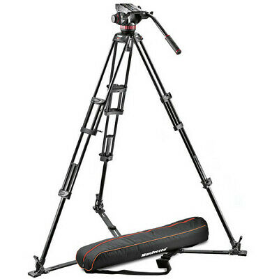 Manfrotto 502A Video Head, 546GB Tripod, and Carry Bag Bundle MVH502A,546GB-1