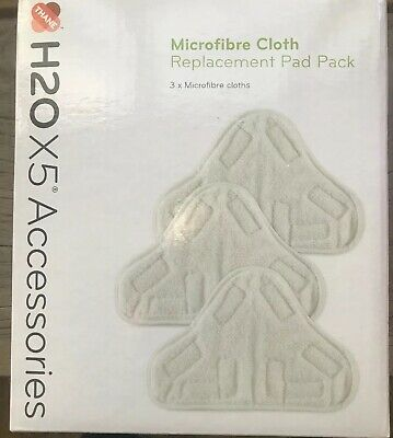 Microfibre Cloth Replacement Pad Pack Of 3 For H2O X5 Mop