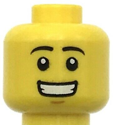 HEAD MF021 Lego Male Green Stern Eyebrows Chin Dimple NEW Toy Story Army Man