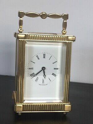 "Vintage Of Early 1900 ""LIONEL PECK"" London, 11 Jewels Mech Move, Carriage Clock"