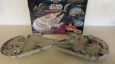 Vintage COMPLETE Star Wars Micro Machines Action Set MILLENNIUM FALCON by Galoob