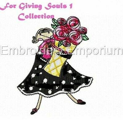 For Giving Souls Collection 1 - Machine Embroidery Designs On Cd Or Usb