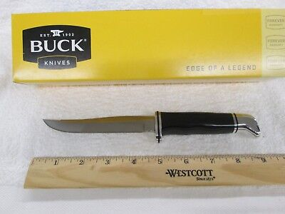 Buck Knives 105 Pathfinder Fixed Blade Knife with Leather Sheath new