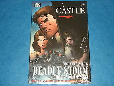 abc TV's CASTLE: RICHARD CASTLE'S DEADLY STORM Marvel Comics HB (Nathan Fillon)