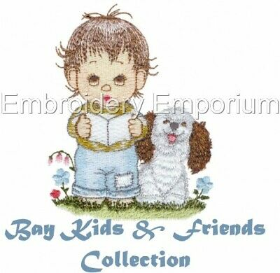Bay Kids & Friends Collection - Machine Embroidery Designs On Cd Or Usb