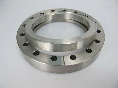 """MDC Bored Conflat Flange 6"""" Througholes 4""""-Bore Rotatable"""