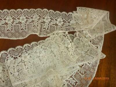 "92"" ( 234 cm ) Antique Lace Trim"