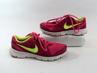 217c08f4085d GIRLS KIDS YOUTH NIKE Flex 2013 RN 579971 602 Pink Sneakers Shoes ...