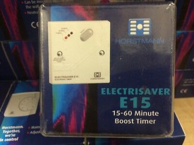 Immersion Boost Timer Switch Heater Time Countdown Control 3KW - Horstmann E15