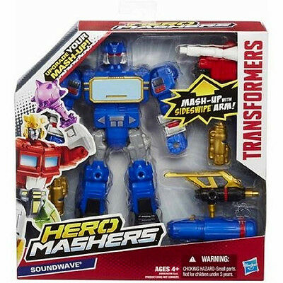 transformers mashers soundwave 6 INCH ACTION FIGURE,collect /& build NEW