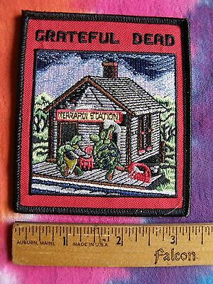 Grateful Dead Terrapin Station 3 Inch Iron On Patch