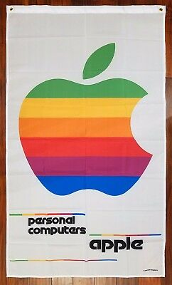 APPLE Personal Computers Advertising Flag Banner 3X5 ft Vintage Sign Mac NEW