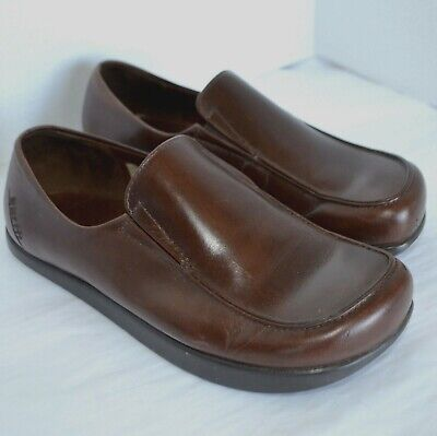 76024911f Earth Kalso Loafer Womens 5 B Charisma Brown Leather Slip On Mocassin Moc  Shoe
