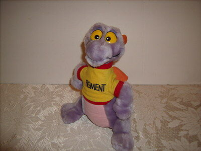 "FIGMENT  Disneyland Walt Disney World Vintage 1982  Dragon 10"" Plush Great Shape"