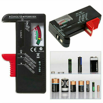 Universal Battery Button Cell Volt Tester Tester Tool AA AAA C D 9V Checker YK